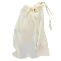 Foxy Cushion In Bag - Cross Stitch Aqua New Golden Body - Chambray Check Trousers