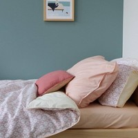 Fitted Sheets - Solid Peach Puff - Keiko Base