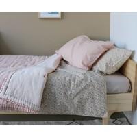 Hoeslaken - Solid Soft Grey - Keiko Base