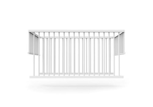 Sebra Yomi top, bars, white