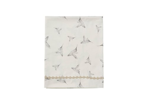 Mies & Co Toddler bed sheet little dreams offwhite