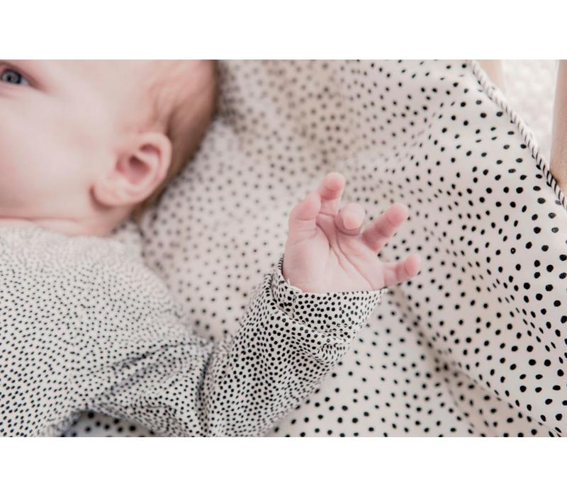 play blanket cozy dots