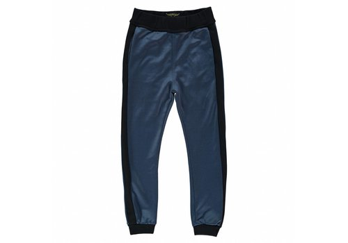 Finger in the nose Sprint night blue tech-unisex knitted jogging pants