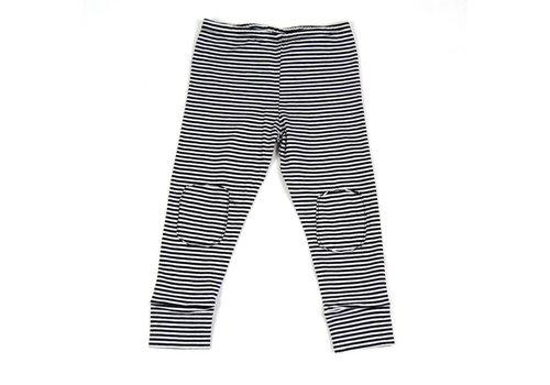 MINGO Legging B/W Stripes