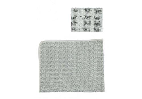 Kidscase Lux printed cradle blanket, sand