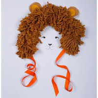 Wearable lion mane