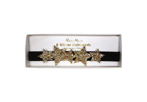 Meri Meri Star glitter hair bands