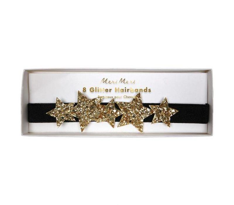 Star glitter hair bands