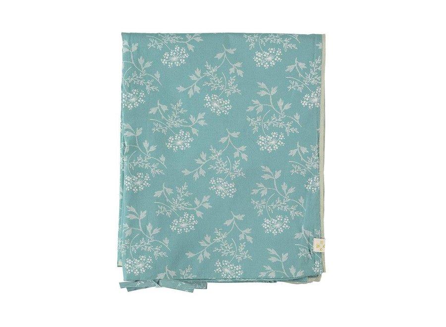 Duvet Cover In A Bag Hanako Floral Light Teal