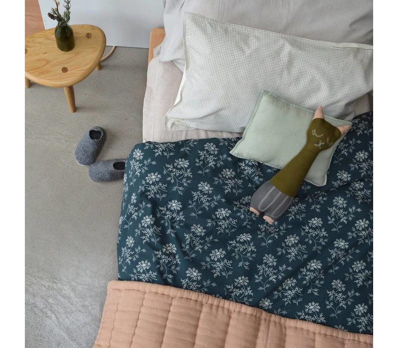 Hand Quilted Blanket   Peach Blossom