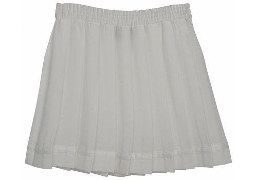 Designers Remix Girls LR Luella Pleat Skirt, Cream