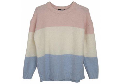 Designers Remix Girls LR Percy Sweater, Colour Blocked