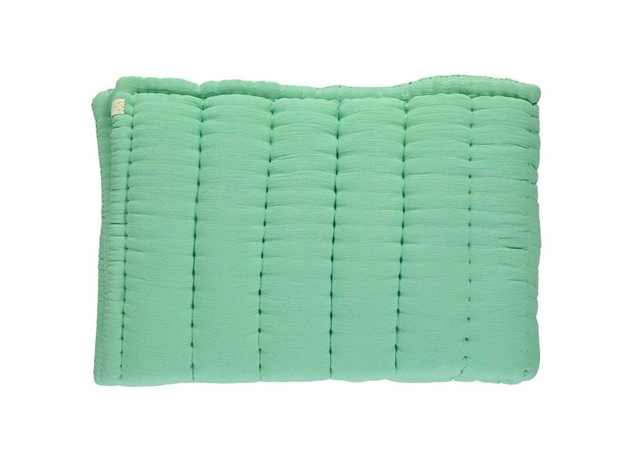 Hand Quilted Blanket  Arsenic