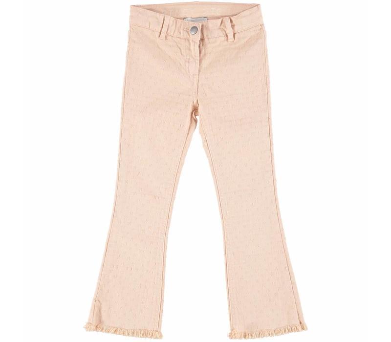 Ashton Girl Trousers Dusky Rose Ankle Lenght