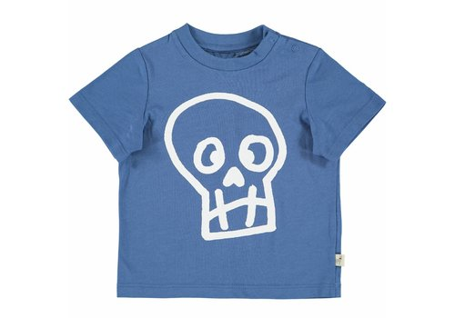 Stella McCartney Kids Chuckle T Shirt W/Skull Pr