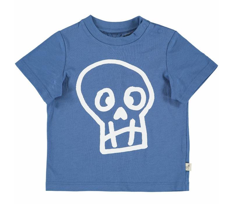 Chuckle T Shirt W/Skull Pr