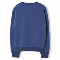 Brian Indi Blue - Boy Knitted Crew Neck Sweatshirt