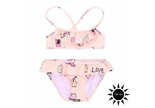 Soft Gallery Jewel Bikini Rose Cloud, AOP Candy