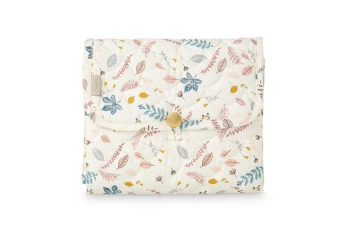 Cam Cam Copenhagen Changing Mat Quilted -OCS-Pressed Leaves Rose