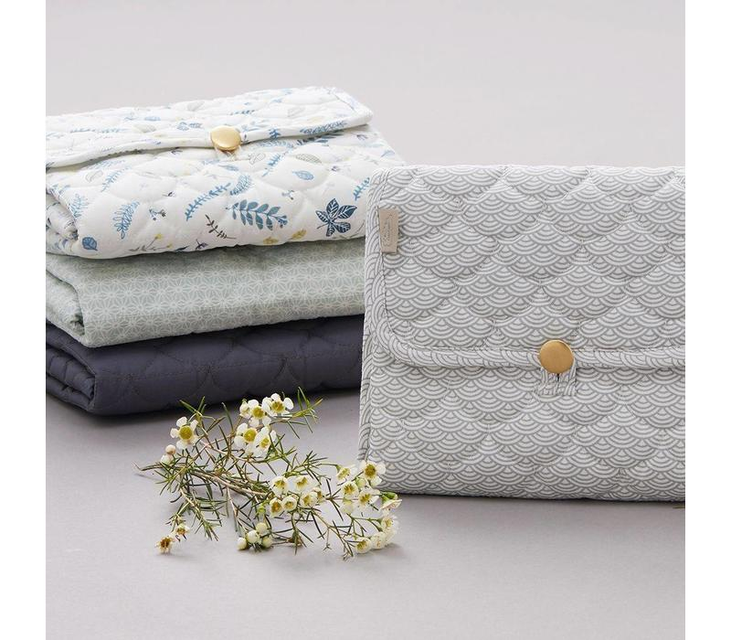 Changing Mat Quilted- OCS- Charcoal