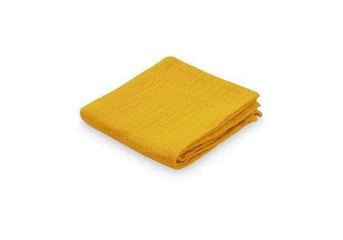Cam Cam Copenhagen Muslin Cloth - GOTS- Mustard