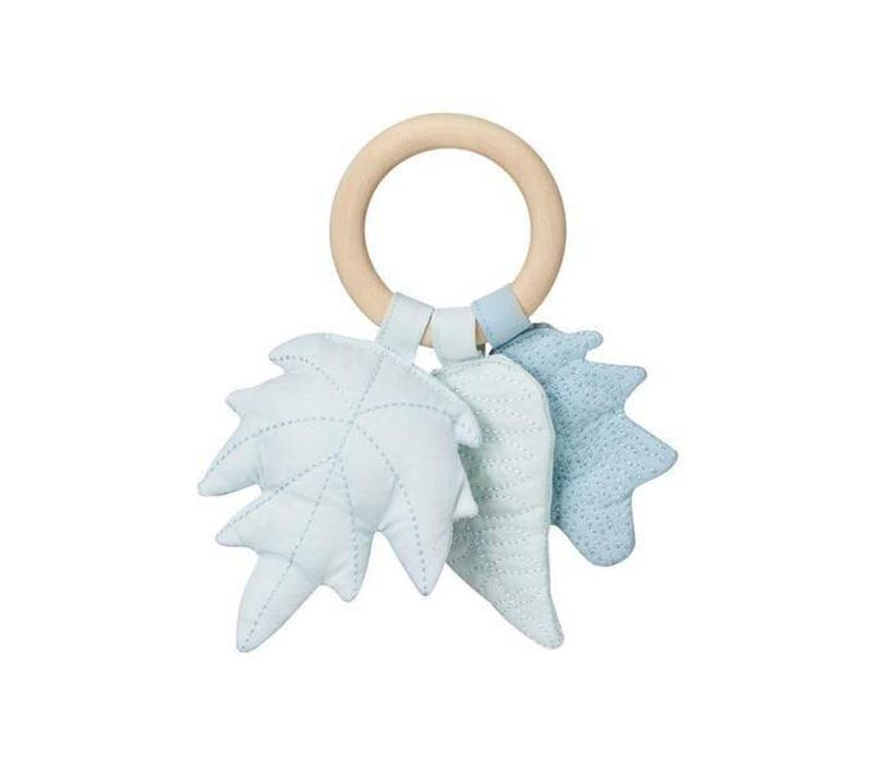 Leaves Rattle - OCS- Mix Blue