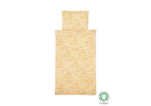 Soft Gallery Bed Linen Junior - Cream AOP Golden Glow
