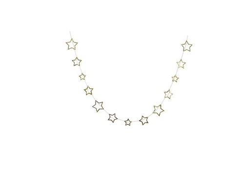 Meri Meri Gold star garland