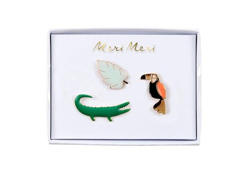Meri Meri Jungle Enamel Pins