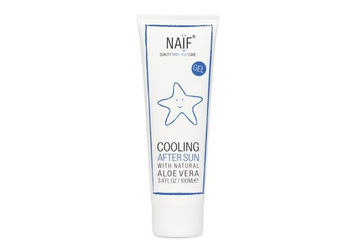 "Naif Cooling After Sun Gel ""Oude verpakking"""