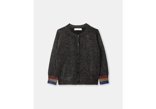 Stella McCartney Kids Lauren Cardigan, Black