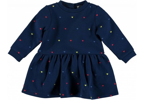 Stella McCartney Kids Bretta  Baby Dress, Embro Hearts