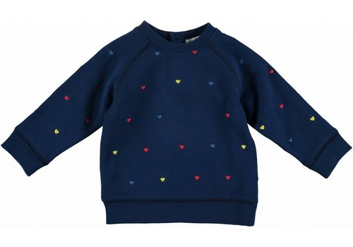 Stella McCartney Kids Betty Sweatshirt, Embro Hearts