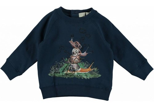 Stella McCartney Kids Billy Sweater, Petrol