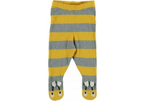 Stella McCartney Kids Snowflake Trouser, Mustard/Thunder