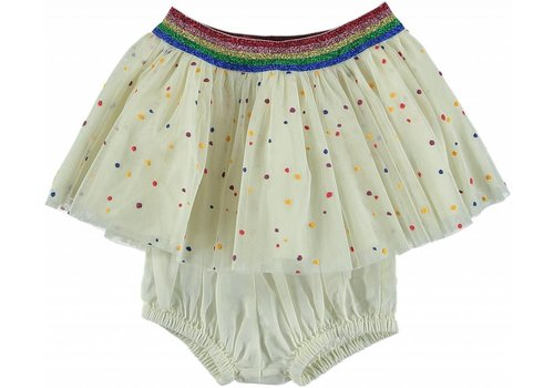Stella McCartney Kids Honey Skirt, Multicolor Dots