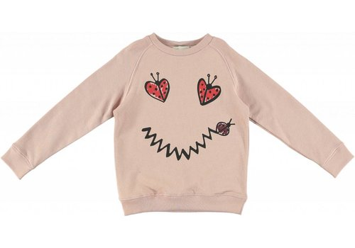 Stella McCartney Kids Betty Sweatshirt, Dusky Rose