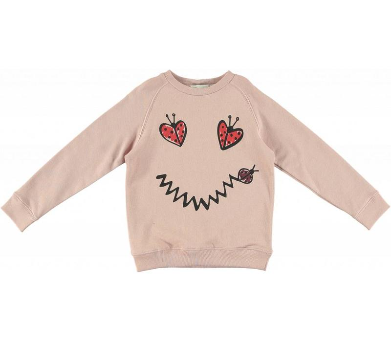 Betty Sweatshirt, Dusky Rose