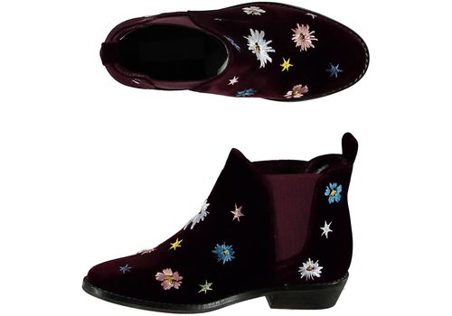 Stella McCartney Kids Lilly Boot, Burgundy