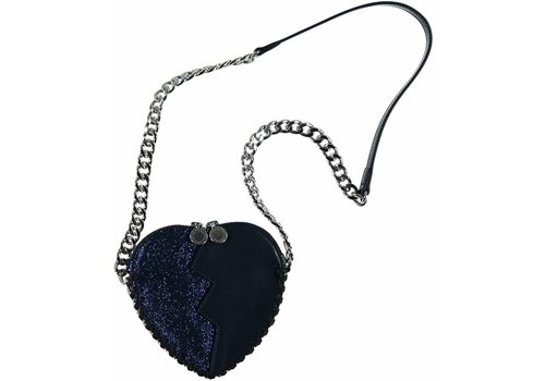 Stella McCartney Kids Jazz Heart Bag, Midnight