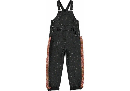 Stella McCartney Kids Rudy Girl Dungarees, Confetti Repeat