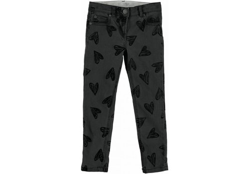Stella McCartney Kids Nini Trouser, Flock Hearts Pr