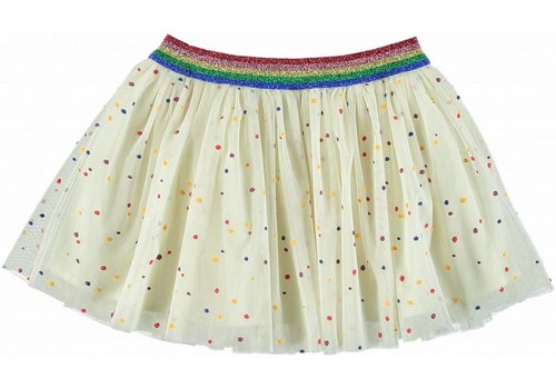 Stella McCartney Kids Honey Skirt, Multicolor Dots Pr