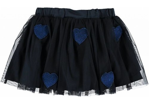 Stella McCartney Kids Honey Skirt, Black Blue