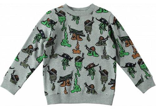 Stella McCartney Kids Biz Sweater, Slime Pr