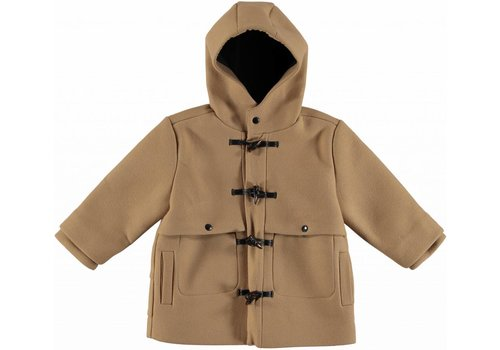 Stella McCartney Kids Camden Boy Coat, Camel