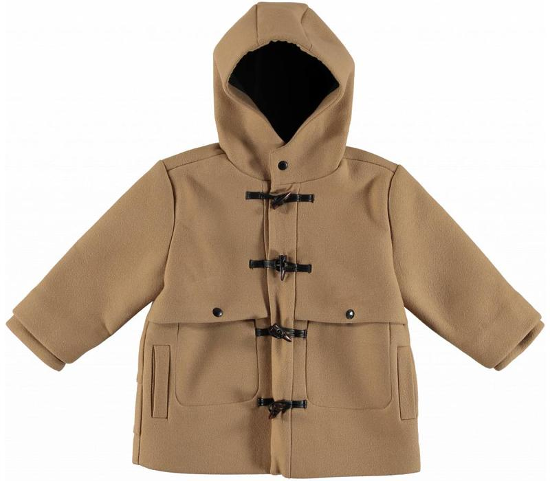 Camden Boy Coat, Camel