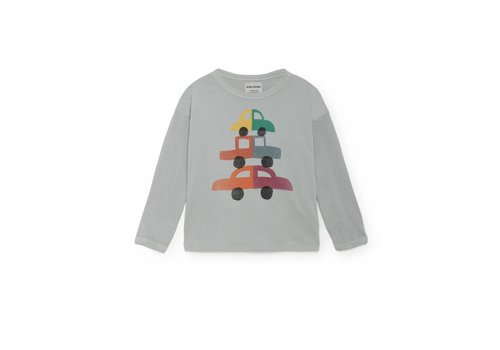 BOBO CHOSES Cars Round Neck T-Shirt