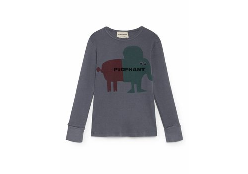 BOBO CHOSES Pigphant Rib T-Shirt