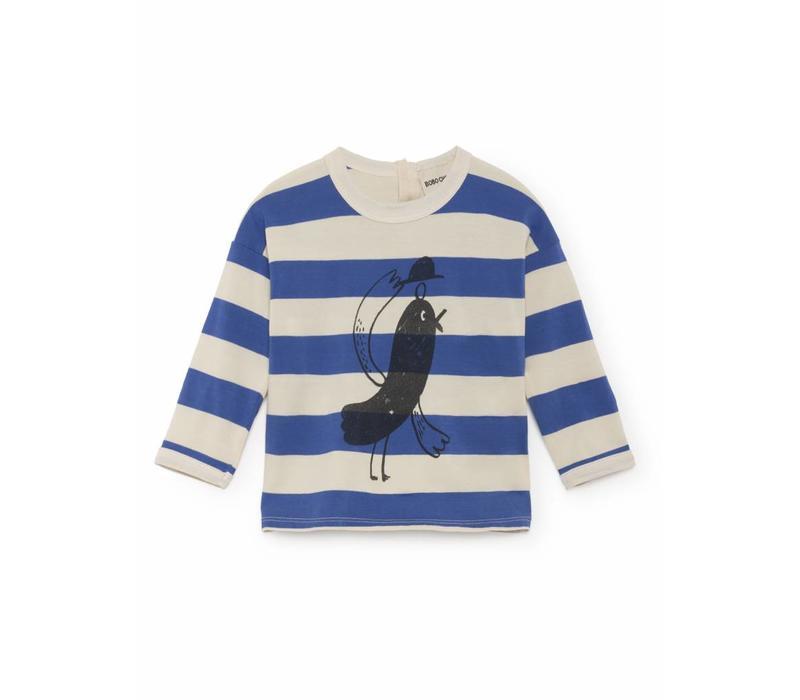 Bird Round Neck T-Shirt